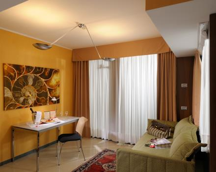 To spend a romantic week end in Genoa, book your room at Best Western Plus City Hotel