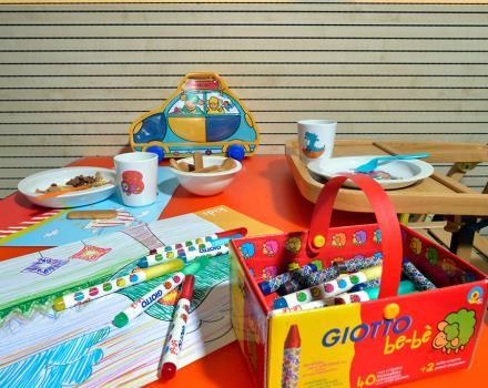 Discover kid-friendly products dedicated at  BW PLUS City Hotel, 4 stars, Genoa Centre